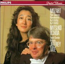 MITSUKO UCHIDA - Mozart: Piano Concertos Nos. 18 & 19 (CD, 1989, Philips)