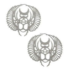 "NEW KILL STAR Silver ""SCARAB"" Earrings - SALE"