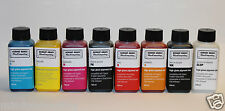 Refill 8x 100ml high gloss pigment ink Epson Stylus Photo R1900 R2000 NON OEM