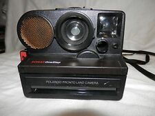 Polaroid Sx70 Pronto Land Camera Sonar one step Tripod Mount Tested Working