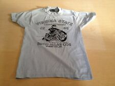 Vintage 1988 Virginia State Motorcycle Drag Championships Slades Raceway T-shirt