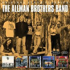 THE ALLMAN BROTHERS BAND - ORIGINAL ALBUM CLASSICS 5 CD NEU