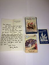 VINTAGE THE FAMOUS FIVE CARD GAME BY ENID BLYTON 1951 WITH LETTER PEPYS