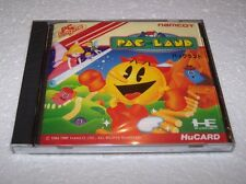 PAC-LAND - PC Engine PCE HuCard - JAPAN IMPORT - NEW & FACTORY SEALED - EXC COND