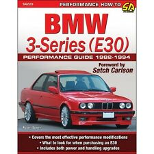 BMW 3-Series (E30) Performance Guide 1982-1994 - Book SA229