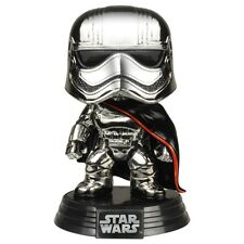 Funko POP! Vinyl Bobble Head Star Wars -Captain Phasma Chrome Limited Edition -