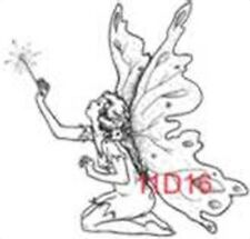 CREATIVE IMAGES RUBBER STAMPS CISTAMPS FAIRY WITH WAND STAMP