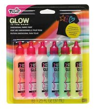 Tulip 29025 Dimensional Glow Fabric Paint, 6-Pack by Tulip Color: Glow NEW AOI