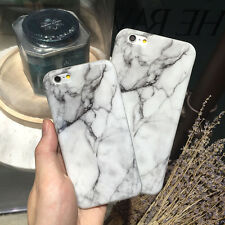 Hot Shockproof Stone Marble Pattern TPU Back Cover Case For iPhone 7 6 6s Plus