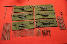 us military surplus M16A1 cleaning kit lot
