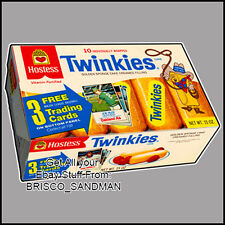 Fridge Fun Refrigerator Magnet HOSTESS TWINKIES Box -Photo A- Retro Food DIE-CUT