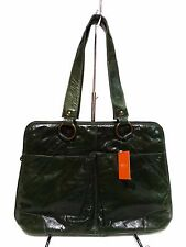 NWT Latico Satchel  Bag Leather Forest Green 2Front Slip Pockets Antique Hardwar