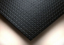 Washable PVC Ceiling Tiles - EcoTile Techno 2' x 4' Black Lay-in Tile Mold Free