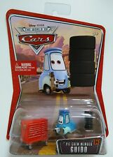 "DISNEY PIXAR CARS PIT CREW MEMBER ""GUIDO"" WORLD OF CARS #34 ~ RARE! NEW!"
