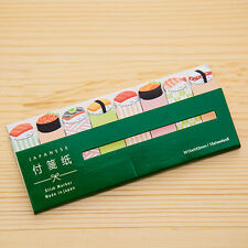 Kawaii Cute Cartoon Post-it Stick Markers Bookmarkers (Sushi)