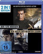 Der 13te Krieger & Der Adler der neunten Legion [2 in 1 Blu-ray] * NEU & OVP *