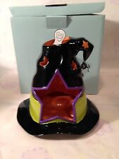 PartyLite SPOOKY HAT TEALIGHT HOUSE Halloween Witch Hat Candle Holder P9959~NIB