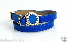House of Harlow 1960 Nicole Richie Sunburst Wrap Bracelet Cobalt