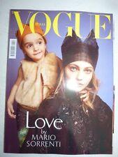 Magazine VOGUE ITALIA #790 giugno 2016 Love by Sorrenti cover Sasha Pivovarova