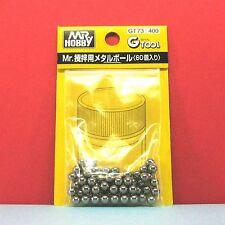 Mr. Hobby #GT73 Mr. Metal Ball (20pcs) for mixing paint