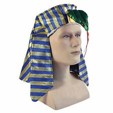 Child Pharoah Egyptian Cleopatra Headpiece Fancy Dress Costume Hat BH569