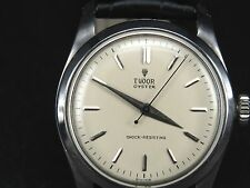 VINTAGE SMALL ROSE TUDOR OYSTER 1182 17JEWELS SWISS SS MANUAL WINDING MENS WATCH