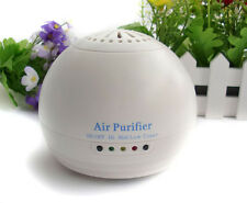 Room Fresh Air Globe Purifier Ioniser Revitalizer & Color Working Time LED Light