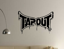 TAPOUT BLOOD DECAL STICKER UFC FIGHTING GSP TRUCK TAP OUT WALL DECOR
