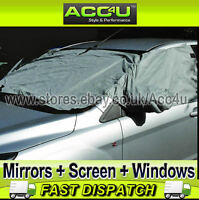 Car Windscreen Front Side Windows Door Mirrors Snow Frost Ice Cover Protector