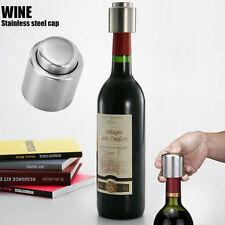 Vakuum Flaschenverschluss Wein Lagerung Flaschenstöpsel Stopfen Edelstahl O