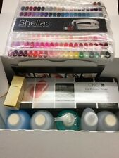 CND Shellac Pro Kit Nail Scrubfresh, Wrap, Coolblue, Cuticle, Solaroil..9pcs Kit