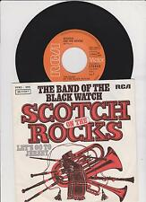 "7"" THE BAND OF BLACK WATCH Scotch On The Rocks b/w Let's Go To Jersey RCA D 1975"