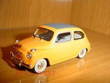 SEAT 600 2nd SERIE CABRIO YELLOW 1959 1:43 RARE