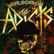 "THE ADICTS ""LIFE GOES ON"" CD PUNKROCK NEU"