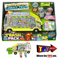 Trash Pack - LIMITED EDITION METALLIC GARBAGE TRUCK - with 2 EXCLUSIVE TRASHIES