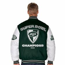 G-III New York Jets NFL Football Hall of Fame Commemorative Jacket LARGE