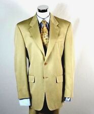 Ralph Lauren 100% Cotton Tan Suit 38R