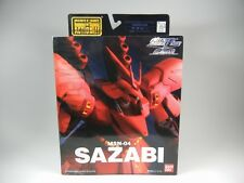 """Extended Mobile Suit In Action! MSIA """"MSN-04 SAZABI """" Figure EMSIA BANDAI"""