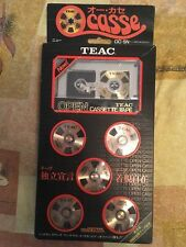 TEAC OCASSE Open Reel Cassette OC-5N. ULTRA RARE For collectors.Made in Japan