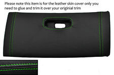 GREEN STITCH TOP DASH GLOVE BOX LID LEATHER COVER FITS TOYOTA SUPRA MK4 93-02