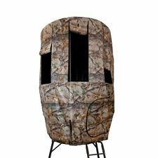 Tripod Deer Stand Covers Camo Blind Roof Weather Game Deer Hunter Bow Rifle New