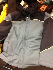 NIKE WINTER COAT IN  NAVY smal med large SIZE  38/40 4042/44NCH BNWLLONG LENGHT