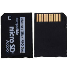 Micro SD SDHC TF to Memory Stick MS Pro Duo PSP Adapter Converter Card Smart