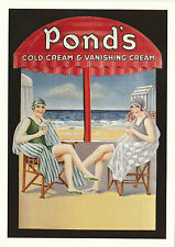 ROBERT  OPIE  ADVERTISING  POSTCARD  -  PONDS'  COLD  CREAM  &  VANISHING  CREAM