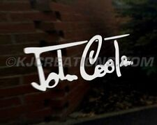 John Cooper firma coche decal sticker Mini One D obras Bmw Clásico