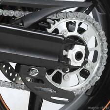 R&G BLACK HDPE ROAD RACING TOE CHAIN GUARD for SUZUKI GSX-R1000, 2001 to 2008