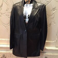NEW KAREN MILLEN LEATHER JACKET Sz14 / BUY NOW