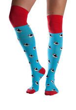 Puffin women's super-soft bamboo over-the-knee socks | By Doris & Dude