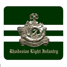 Rhodesian Light Infantry - Personalised Mouse Mat