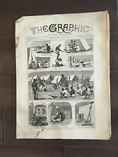 """""""THE GRAPHIC"""" (A Beautifully Illustrated British Weekly Newspaper)-July 20, 1878"""